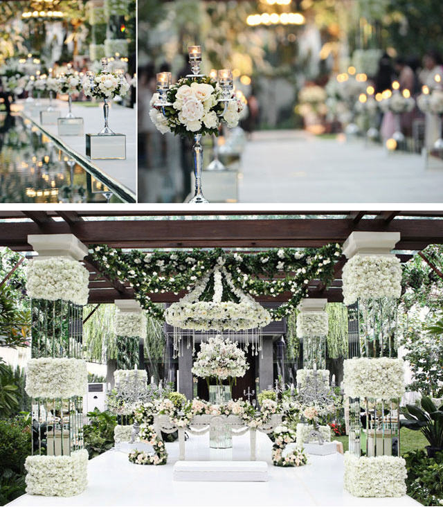 White Wedding Decoration Ideas