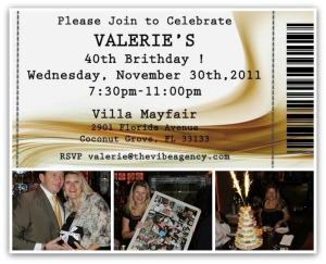 LA VILLA MAYFAIR  BIRTHDAY PARTY
